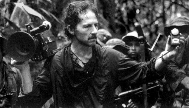 Herzog filmando Fitzcarraldo